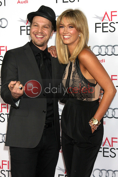 Gavin DeGraw, Delta Goodrem<br /> at the &quot;Out Of The Furnace&quot; Premiere as part of AFI FEST 2013, Chinese Theater, Hollywood, CA 11-09-13<br /> David Edwards/DailyCeleb.com 818-249-4998