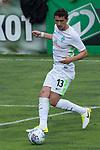 12.07.2017, Sportplatz, Zell am Ziller, AUT, TL Werder Bremen 2017 - FSP Werder Bremen (GER) vs Wolverhampton Wanderers (ENG), <br /> <br /> im Bild<br /> Milos Veljkovic (Werder Bremen #13)<br /> <br /> <br /> Foto &copy; nordphoto / Kokenge