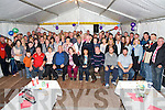 Patrick and Margaret O'Sullivan, Crossmount, Kilgarvan, pictured with their family and many friends as they celebrated their 30th wedding anniversary at home on Saturday night.........................................................