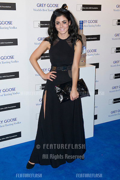 Marina Diamandis arriving for the Grey Goose Ball 2012, Battersea Power Station, London. 10/11/2012 Picture by: Simon Burchell / Featureflash