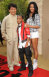 "WESTWOOD, CA. - June 07: Jackie Chan, Jaden Smith and Ciara arrive at ""The Karate Kid"" Los Angeles Premiere at Mann Village Theatre on June 7, 2010 in Westwood, California."