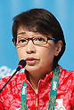 Seiko Hashimoto (JPN), <br /> AUGUST 21, 2016 : Seiko Hashimoto, Yasuhiro Yamashita, Yuji Takada attend a press conference at Main Press Center during the Rio 2016 Olympic Games in Rio de Janeiro, Brazil. <br /> (Photo by Sho Tamura/AFLO SPORT)