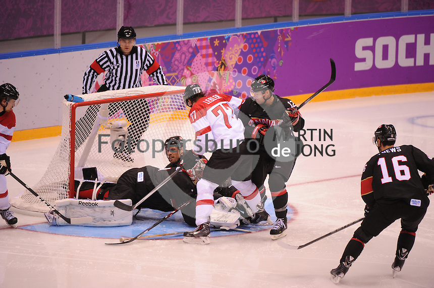 OLYMPICS: SOCHI: Bolshoy Ice Dome, 14-02-2014, Ice Hockey, Men's Prelim. Round Group B, Canada - Austria, result: 6-0, ©photo Martin de Jong