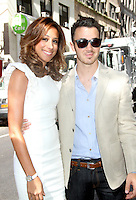 NEW YORK, NY - AUGUST 13, 2012: Kevin Jonas and Danielle Jonas leaving NBC's Today Show studios in New York City. © RW/MediaPunch Inc.