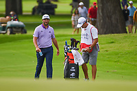 Jon Rahm (ESP) looks over his approach shot on 2 during round 2 of the 2019 Charles Schwab Challenge, Colonial Country Club, Ft. Worth, Texas,  USA. 5/24/2019.<br /> Picture: Golffile   Ken Murray<br /> <br /> All photo usage must carry mandatory copyright credit (© Golffile   Ken Murray)