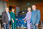L-R Ted&Penny Coates with eileen&Frank Cantillon attending the Kingdom Vintage,Veteran&Classic Car Club held their annual social in the Ballyroe Heights Hotel, Tralee, last Saturday night.