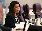 Nevada Assemblywoman Teresa Benitez Thompson, D-Reno, works in committee at the Legislative Building in Carson City, Nev., on Tuesday, Feb. 17, 2015. <br /> Photo by Cathleen Allison