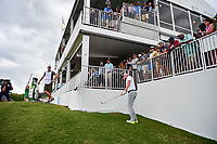 Thomas Pieters (BEL) chips on 13 during round 3 of the World Golf Championships, Dell Technologies Match Play, Austin Country Club, Austin, Texas, USA. 3/24/2017.<br /> Picture: Golffile | Ken Murray<br /> <br /> <br /> All photo usage must carry mandatory copyright credit (&copy; Golffile | Ken Murray)