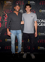 "WEST HOLLYWOOD - NOVEMBER 11: Tim McGraw and Alex Honnold attends a screening of National Geographic's ""Free Solo"" at Pacific Design Center on November 11, 2018 in West Hollywood, California. (Photo by Frank Micelotta/National Geographic/PictureGroup)"
