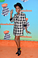 LOS ANGELES, CA. March 23, 2019: Janelle Monae at Nickelodeon's Kids' Choice Awards 2019 at USC's Galen Center.<br /> Picture: Paul Smith/Featureflash