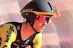 Mikel Nieve (ESP) Mitchelton-Scott on the start ramp of Stage 1 of the 2019 Giro d'Italia, an individual time trial running 8km from Bologna to the Sanctuary of San Luca, Bologna, Italy. 11th May 2019.<br /> Picture: Eoin Clarke | Cyclefile<br /> <br /> All photos usage must carry mandatory copyright credit (© Cyclefile | Eoin Clarke)