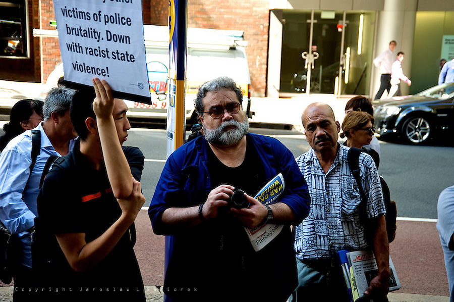 Death of Brasilian student Roberto Laudisio Curti, Solidarity Rally 02.03 2012<br />