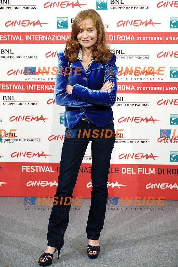 """Isabelle HUPPERT.""""Mon pire cauchemar"""".Roma 30/10/2011 Auditorium.Festival Internazionale del Film di Roma.Foto Andrea Staccioli Insidefoto"""