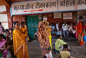 Patients and their family members wait to meet the doctors during the OPD hours in Duncan Hospital in Raxaul of East Champaran district of Bihar, India. Photograph: Sanjit Das/Panos for Legatum Foundation