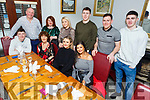Aisling O&rsquo;Brien from Oakview Tralee celebrating her birthday in Bella Bia on Saturday night.<br /> Seated l to r: Cillian, Evonne and Aisling O&rsquo;Brien and Kayleigh Quirke.<br /> Back l to r: Ed O&rsquo;Brien, Noelle Dowling, Faith Cox, Dick O&rsquo;Brien, John Denis and John Dolan.