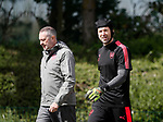 Arsenal's Petr Cech during the training session at the Arsenal Training Centre, London Colney. Picture date: 25th April 2018. Picture credit should read: David Klein/Sportimage