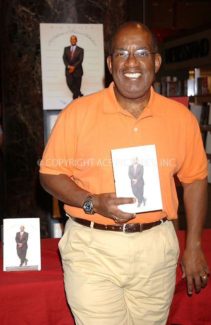 WWW.ACEPIXS.COM . . . . . ....NEW YORK, JUNE 14, 2005....Al Roker signs copies of his new book 'Big Shoes' at Borders on Wall Street.....Please byline: KRISTIN CALLAHAN - ACE PICTURES.. . . . . . ..Ace Pictures, Inc:  ..Craig Ashby (212) 243-8787..e-mail: picturedesk@acepixs.com..web: http://www.acepixs.com