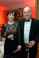 Pictured  at the IHF Ball in the Muckross Park Hotel at the weekend were Aoife Harrington and Dermot Healy, Killarney.<br /> Photo: Don MacMonagle<br /> <br /> Repro free photo