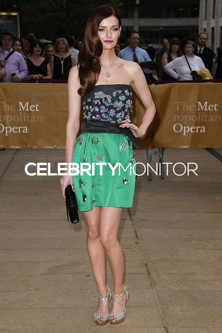 NEW YORK CITY, NY, USA - MAY 12: Lydia Hearst-Shaw at the American Ballet Theatre 2014 Opening Night Spring Gala held at The Metropolitan Opera House on May 12, 2014 in New York City, New York, United States. (Photo by Celebrity Monitor)
