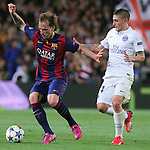 21.04.2015 Barceloona. UEFA Champions League, Quarter-finals 2nd leg. Picture show Rakitic in action during game between FC Barcelona against Paris Saint-Germain at Camp Nou