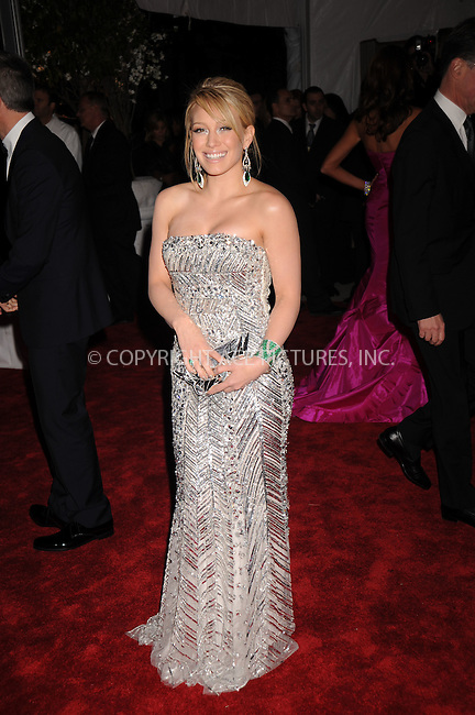 WWW.ACEPIXS.COM . . . . . ....May 5 2008, New York City....Singer Hilary Duff arriving at the Metropolitan Museum of Art Costume Institute Gala, Superheroes: Fashion and Fantasy, held at the Metropolitan Museum of Art on the Upper East Side of Manhattan.....Please byline: KRISTIN CALLAHAN - ACEPIXS.COM.. . . . . . ..Ace Pictures, Inc:  ..(646) 769 0430..e-mail: info@acepixs.com..web: http://www.acepixs.com