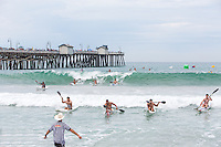 Lifeguard Competition in San Clemente at the Pier