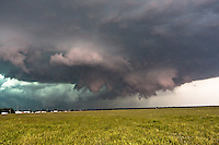 Rotating thunderstorm, Kearney, NE, May 29, 2008