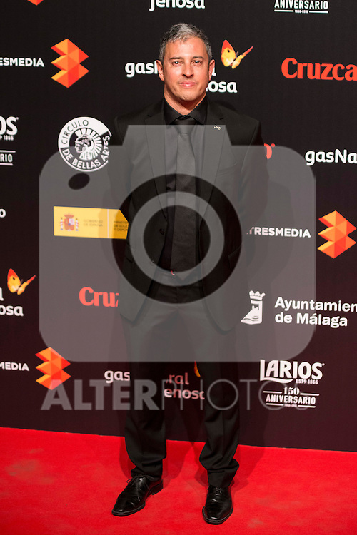 David Canovas attends to the cocktail presentation of the XIX Malaga Film Festival at Circulo de Bellas Artes in Madrid. April 06, 2016. (ALTERPHOTOS/Borja B.Hojas)
