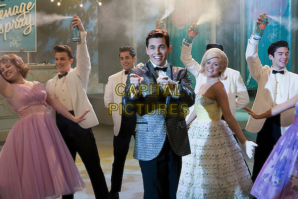 JAMES MARSDEN & BRITTANY SNOW.in Hairspray  .**Editorial Use Only**.CAP/AWFF.Supplied by Capital Pictures