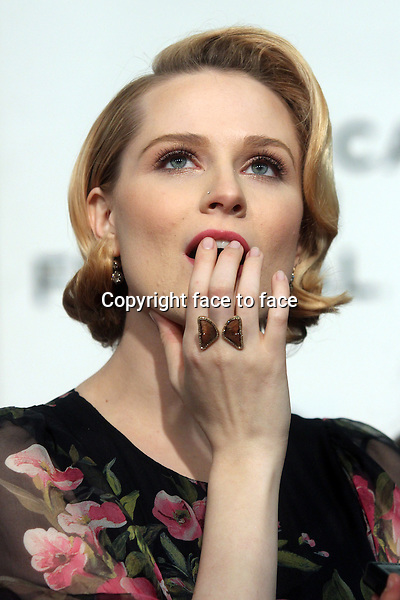 "Evan Rachel Wood attends the world premiere of ""A Case of You"" at The 2013 Tribeca Film Festival at BMCC Tribeca Performing Arts Center in New York, 21.04.2013. Credit: Rolf Mueller/face to face"