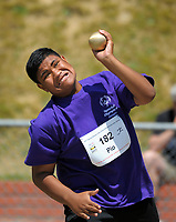 Action from the Special Olympics NZ National Summer Games 2017 athletics at Newtown Park in Wellington, New Zealand on Tuesday, 28 November 2017. Photo: Dave Lintott / lintottphoto.co.nz