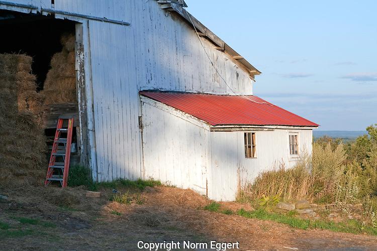 Old Barn in Barre, Massachusetts