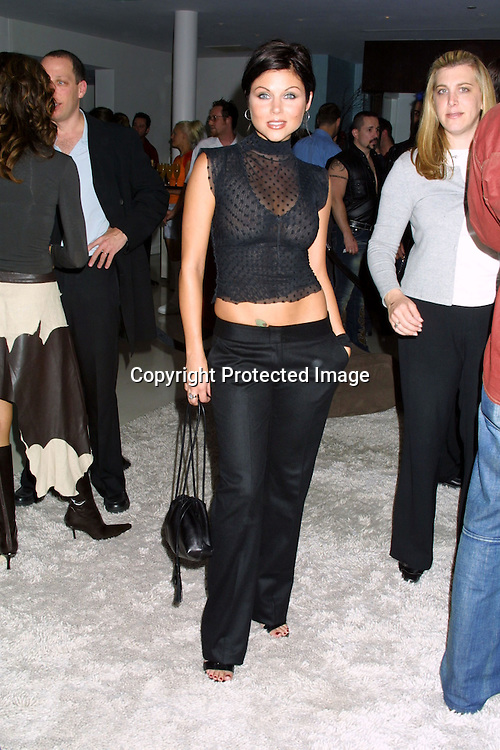 "©2002 KATHY HUTCHINS / HUTCHINS PHOTO .PREMIERE PARTY FOR FOX'S ""FASTLANE"" TV SHOW.AUGUST 5, 2002.THE STANDARD HOTEL.W. HOLLYWOOD, CA..TIFFANI THIESSEN"