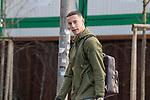 x17.01.2020, Trainingsgelaende am wohninvest WESERSTADION,, Bremen, GER, 1.FBL, Werder Bremen Training ,<br /> <br /> Ankunft der Spieler am Stadion in  Zivil vor dem Auswaertsspiel in Duesseldorf<br />  im Bild<br /> <br /> Marco Friedl (Werder Bremen #32)<br /> Einzelaktion, Halbkörper / Halbkoerper,<br /> <br /> Foto © nordphoto / Kokenge