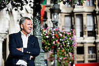 Alain Courtois, MR politician and deputy mayor of the city of Brussels (Belgium, 02/09/2013)