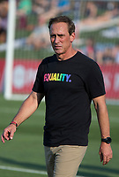 Boyds, MD. - Saturday, June 24 2017:  Jim Gabarra during a regular season National Women's Soccer League (NWSL) match between the Washington Spirit and the Portland Thorns FC at Maureen Hendricks Field, Maryland SoccerPlex.<br />  The Washington Spirit defeated the Portland Thorns FC 1-0.