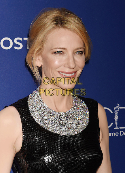 BEVERLY HILLS, CA - FEBRUARY 23: Actress Cate Blanchett attends the 18th Costume Designers Guild Awards at The Beverly Hilton Hotel on February 23, 2016 in Beverly Hills, California.<br /> CAP/ROT/TM<br /> &copy;TM/ROT/Capital Pictures