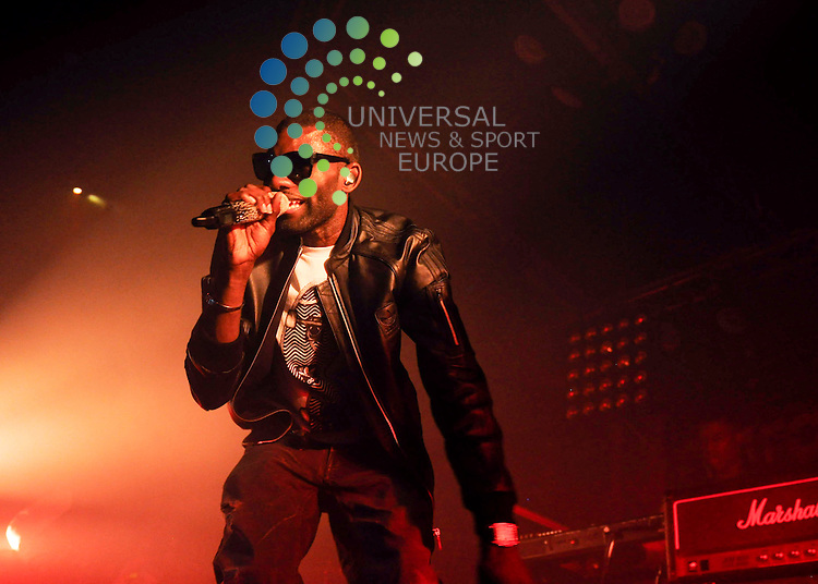 Wretch 32 playing live at The Garage in Glasgow, 16/10/11..Picture: Peter Copeland