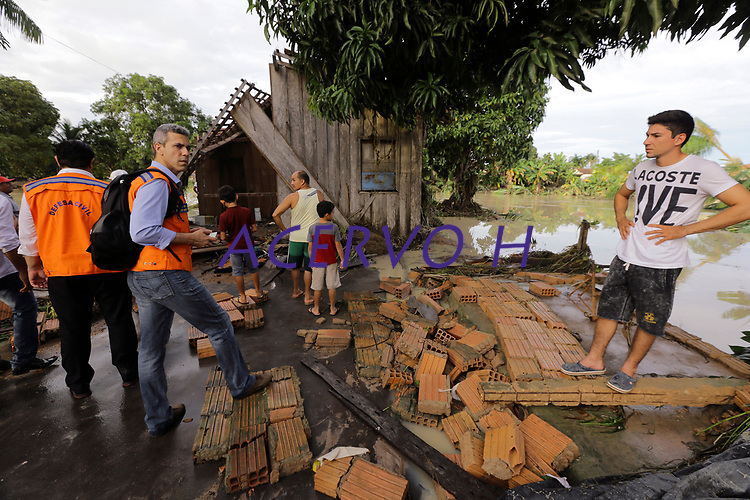Alagamentos em Paragominas Pará- 12/04/2018 Foto Marco Santos