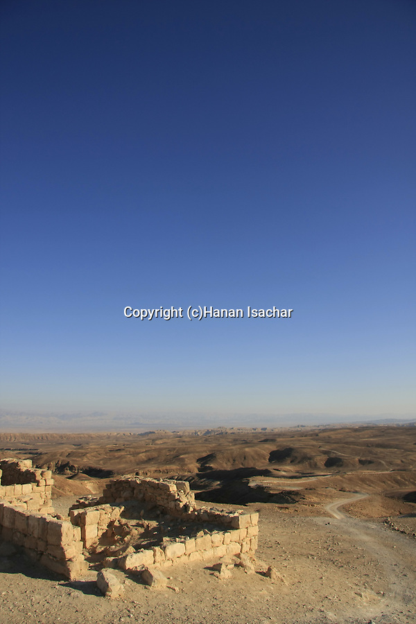 Israel, Negev, Israel, Negev, Kasra Fortress on the ancient Incense Route, a World Heritage Site