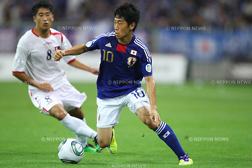 Shinji Kagawa (JPN), SEPTEMBER 2, 2011 - Football / Soccer : FIFA World Cup Brazil 2014 Asian Qualifier Third Round Group C match between Japan 1-0 North Korea at Saitama Stadium 2002, Saitama, Japan. (Photo by YUTAKA/AFLO SPORT) [1040]