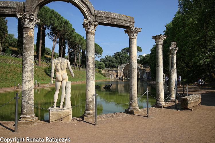 Villa Adriana, Canopus, Italy