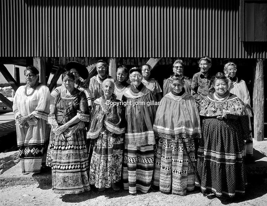 Seminole women elders at Smallwood Store
