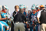 Philadelphia Barrage vs Los Angeles Riptide.Home Depot Center, Carson California.Riptide during time out.506P9006.JPG.CREDIT: Dirk Dewachter
