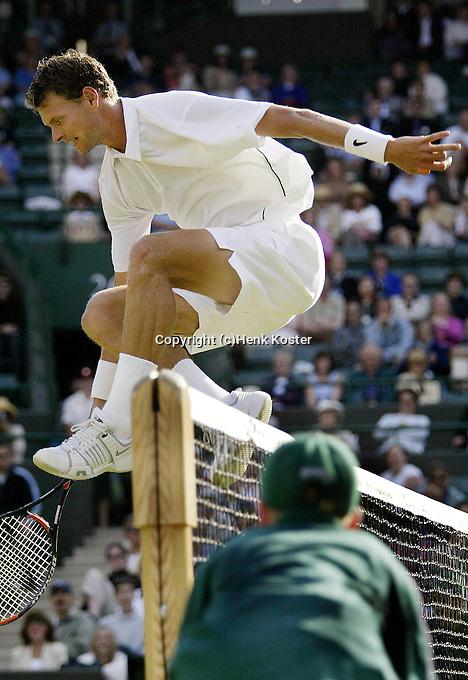 20030625, London, Tennis, Wimbledon, Sjeng Schalken
