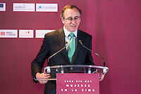 Health Minister Alfonso Alonso during the 25th edition of FEDEPE Awards at Jardines de Cecilio Rodriguez in Madrid, Spain. July 26, 2016. (ALTERPHOTOS/BorjaB.Hojas)