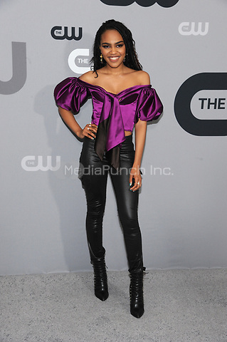 NEW YORK, NY - MAY 17: China Anne McClain at the 2018 CW Network Upfront at The London Hotel on May 17, 2018 in New York City. Credit: John Palmer/MediaPunch