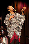 "Israeli born Ethiopian singer Ester Rada brought her cross-cultural sound to the Oskar Schindler Performing Arts Center in West Orange, NJ, for the ""Roots & Rib"" music festival."