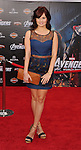 HOLLYWOOD, CA - APRIL 11: Debby Ryan attends the World premiere of 'Marvel's Avengers' at the El Capitan Theatre on April 11, 2012 in Hollywood, California.