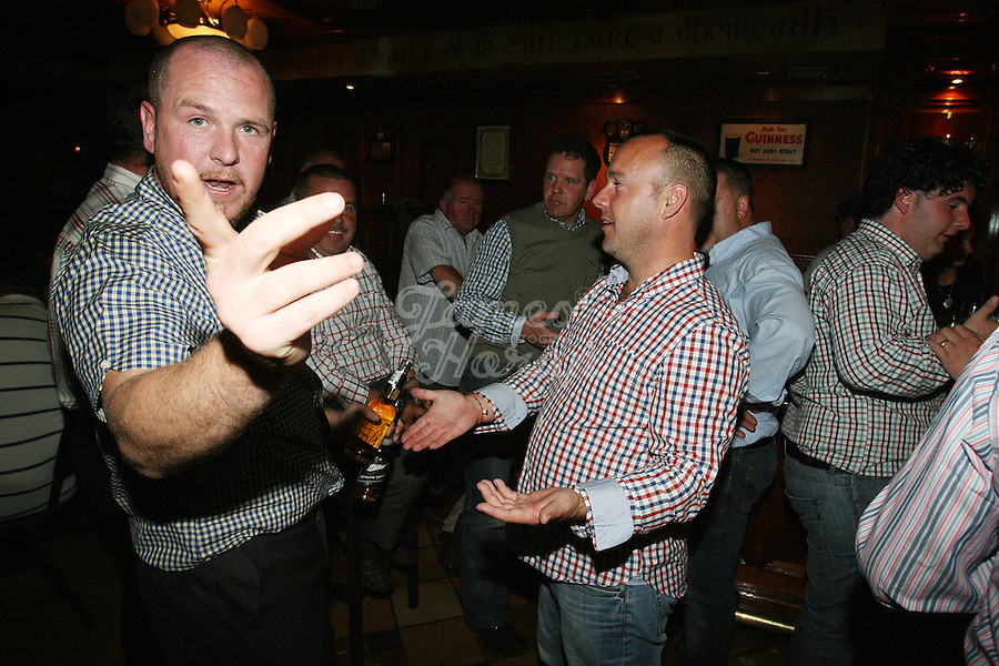 3/10/2010. Traveler 's are pictured on the dance floor at Haydons Hotel. The only Hotel in Ballinasloe that serves travelers alcohol. Picture James Horan